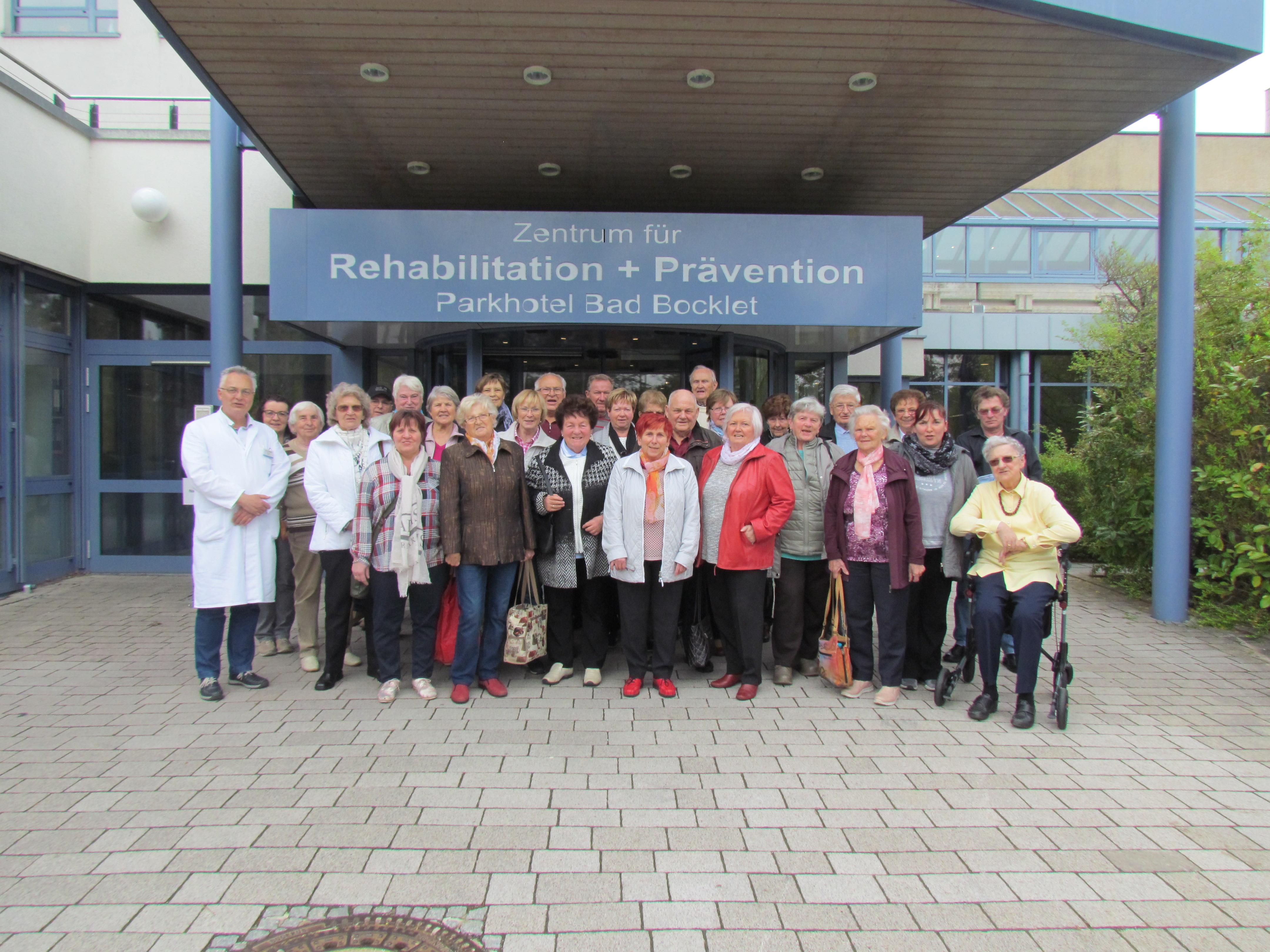 Fahrt nach Bad Bocklet am 4. Mai 2017